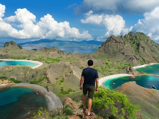 touring | indonesia  - the land of the last dragons