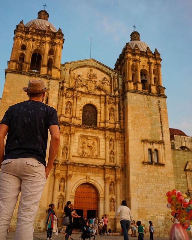 #cathedral of #Oaxaca #Mexico -_#travel #traveling #travelgram #instatravel #wanderlust #backpacking #adventure #world #photography #sonya7_