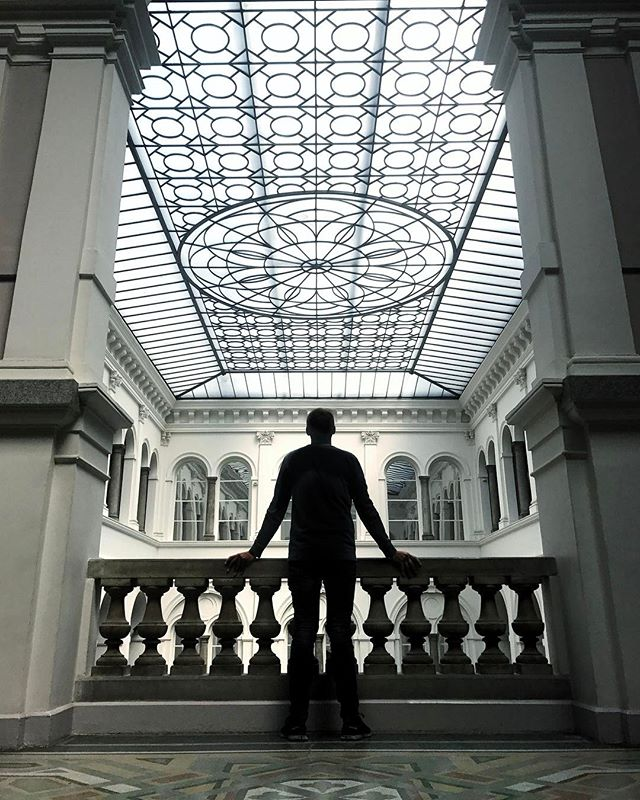 What's your favorite museum_ mine is the #hermitage in #stpetersburg #russia but this one is equally cool it's the #national #museum in #Wro