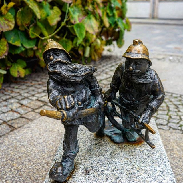 These #little #gnomes are place around the #old #town #square _ #travel #traveling #travelgram #instatravel #wanderlust #backpacking #advent
