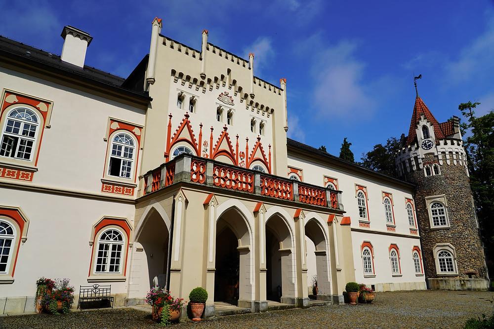 chateau heralec czech republic