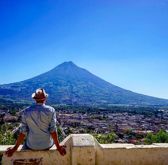 #go #explore _ nobody is stopping you _ #antiguaguatemala #guatemala _ #volcano #me_-_-_#travel #traveling #travelgram #instatravel #wanderl