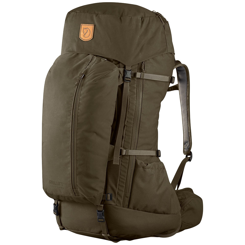 fjallraven backpack open