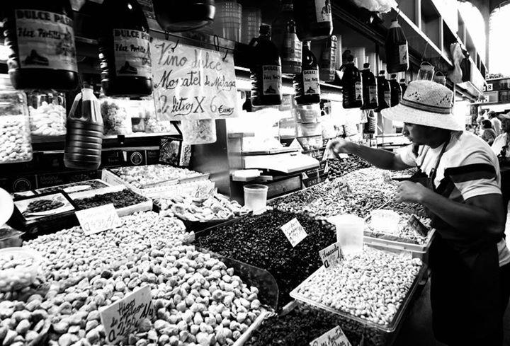 malaga central market