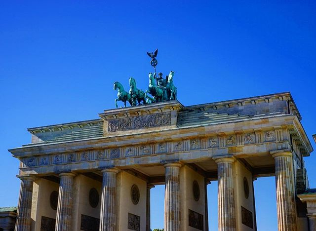 My first #photo in #Berlin had to be of the #brandenburg #gate their is something #special about it