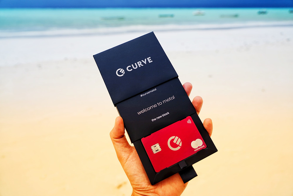 curve metal card