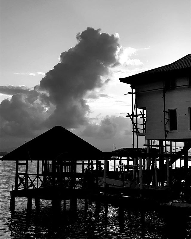 #sunrise in #noir _ one of the many jetties that are situated all over the #island