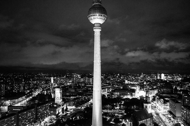 #berlin #night #time #cityscape from the #parkinnberlin this #city comes #alive at #night _ #travel #traveling #photography #berlin #germany