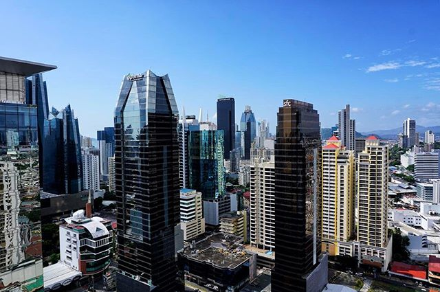 #cityscape of new #panamacity _ #panama -_-_travel #traveling #travelgram #instatravel #wanderlust #backpacking #world #photography #a6000 #
