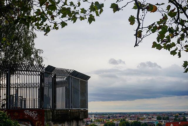#views from the last #worldwar #bunker remaining in #Berlin _ #travel #traveling #germany #photography #landscape