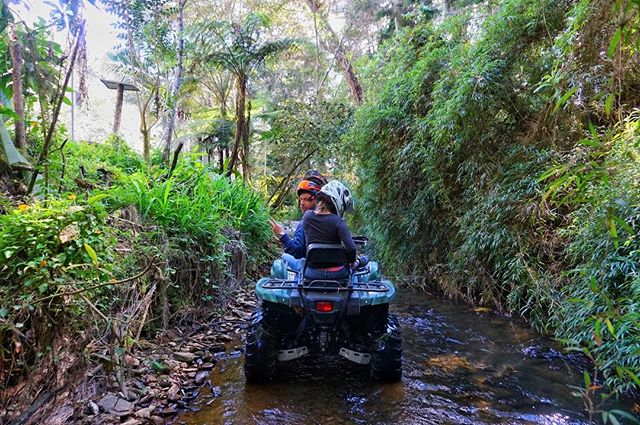 #living on the #dangerous side of #life _ #fantastic #atv exploration of the hills surrounding #medellin with _cuatritours_medellin such a g