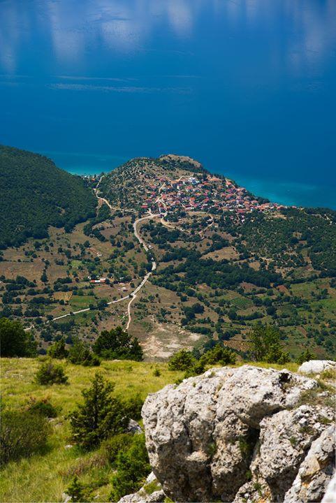 ariel view of trpejca