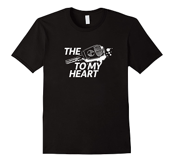 "SRC T-Shirt - ""The key to my heart"""