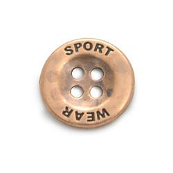 Botão_Sport_Wear_Cobre