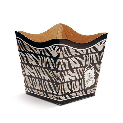 Cachepot Animale Zebra Fashion
