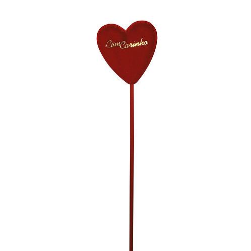 Pick Coração com Mensagem