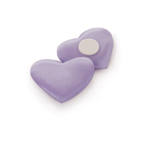 Adesivo Coração Liso Lilás