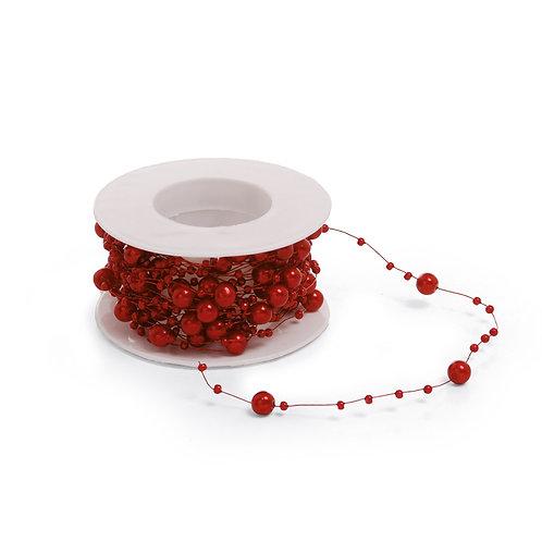 Cordão Pérola Vermelho