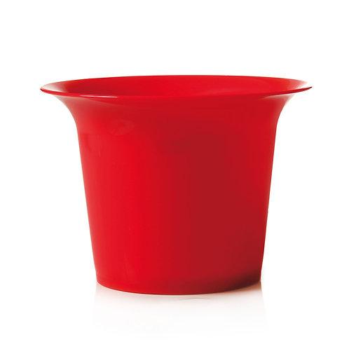 Vaso Cristal Vermelho