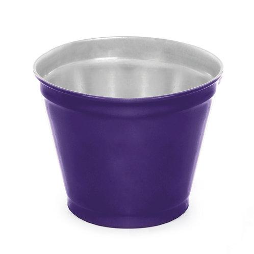 Vaso de Alumínio Liso Roxo