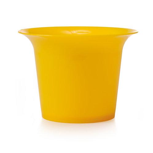 Vaso Cristal Amarelo