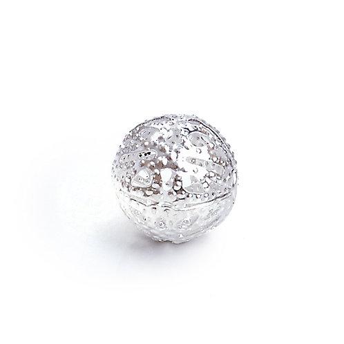 Conta Metal Diamante