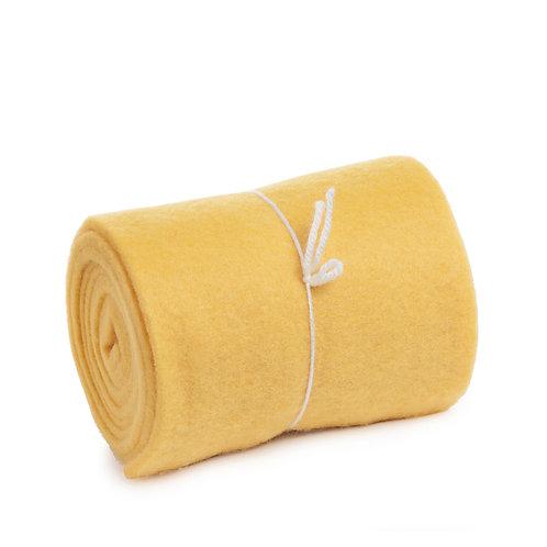 Manta de Lã Amarela