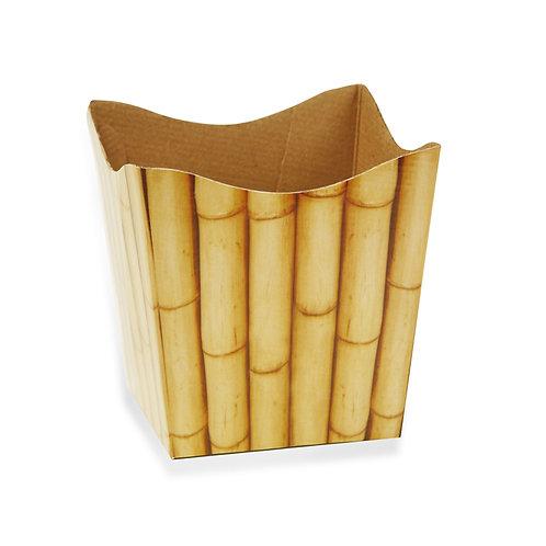Cachepot Textura Bambu