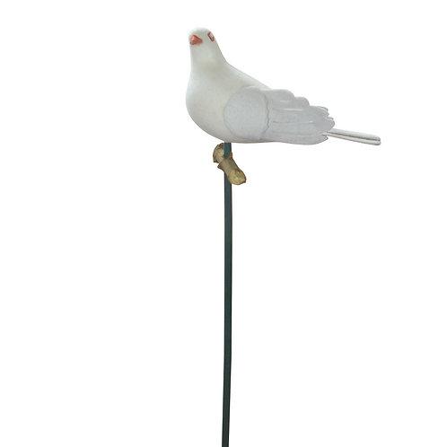 Pássaros Pena Marrom (pick madeira)
