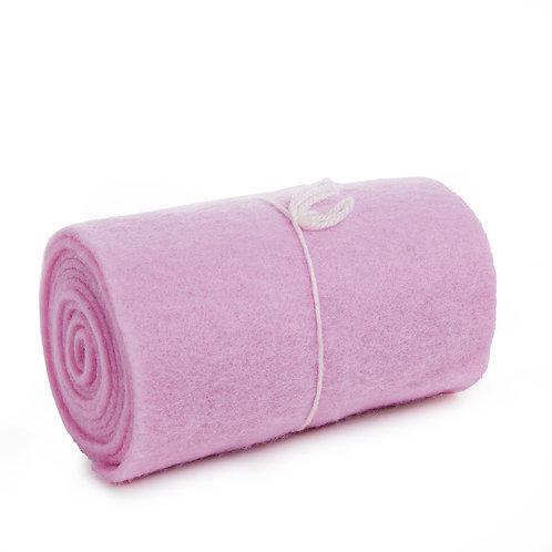 Manta de Lã Rosa