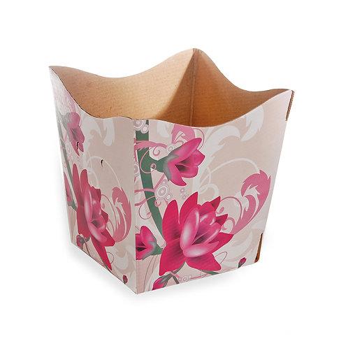 Cachepot Luxo Floral Elegance