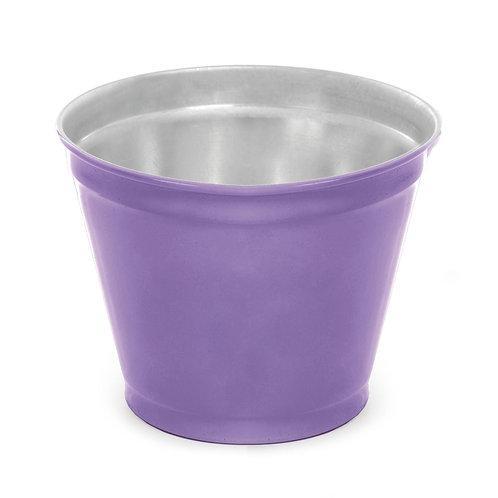 Vaso de Alumínio Liso Lilás