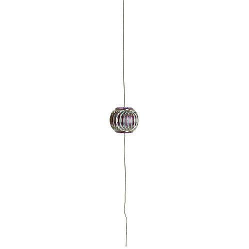 Cordão Decorativo com Pedraria Contas Lilás