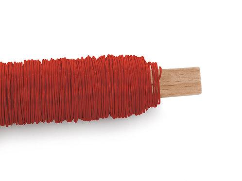 Arame Decorativo Liso Vermelho