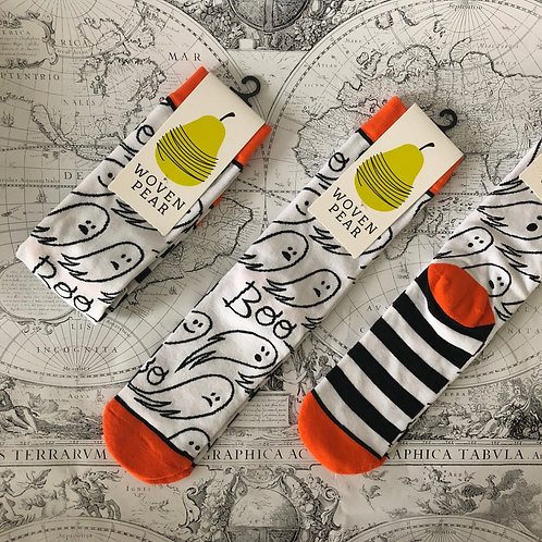 Boo-Yah socks (Woven Pear)
