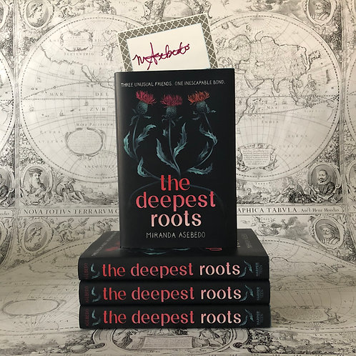 The Deepest Roots with bookplate and author letter