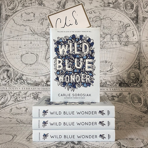 Wild Blue Wonder with bookplate