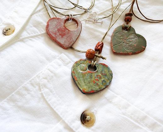 Handmade Heart Pendant
