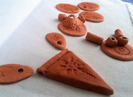 New projects - clay jewellery