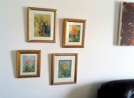Paintings up!