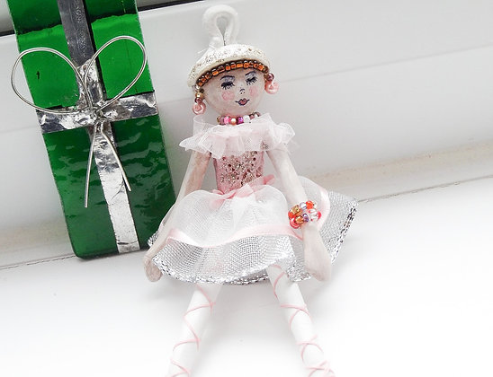 Zizi Ballerina Pendant