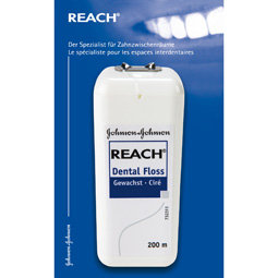 Reach Dental Floss gewachst