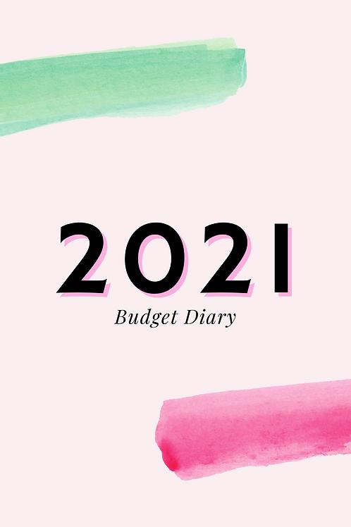 2021 Budget Diary (PDF)
