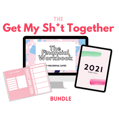 "The 2021 ""Get My Sh*t Together"" Bundle (Physical Workbook)"