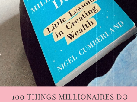 Book Review: 100 Things Millionaires Do