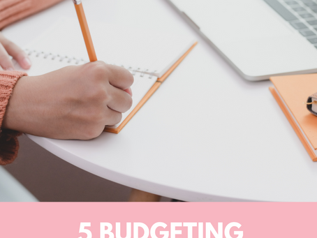 5 Budgeting Methods and How They Can Help You Reach Your Money Goals