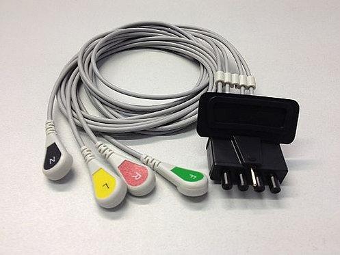 OEM EKG-Kabel 4-polige Extremitätenableitung für