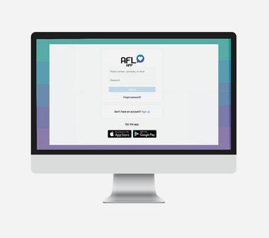 AFL App Interface
