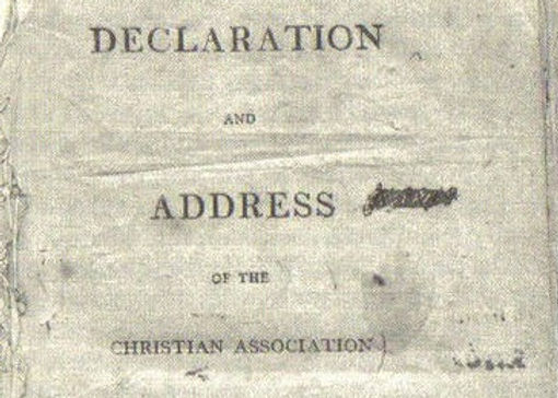 Declaration and Address of the Christian