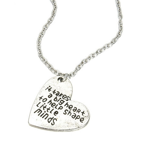 It Takes a Big Heart Pendant Necklace